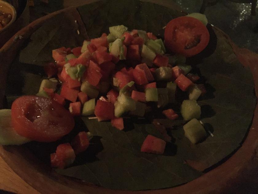 Kobij gajar kakdi nu Salad