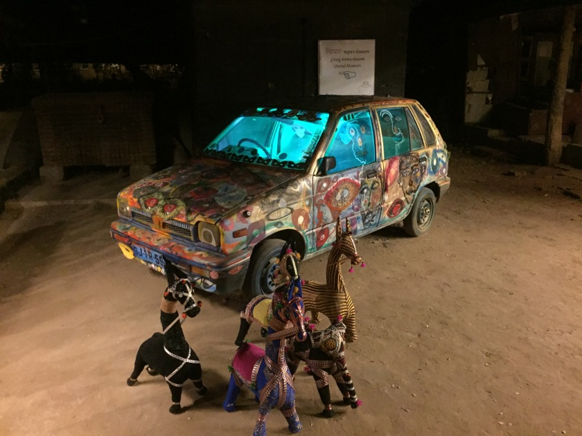 tattooed Maruti 800