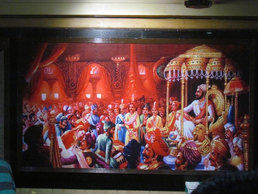 Shivaji painting