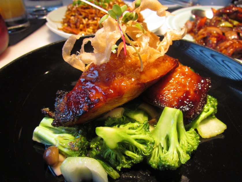 baked silver cod in miso sauce
