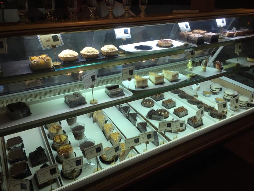 dessert corner