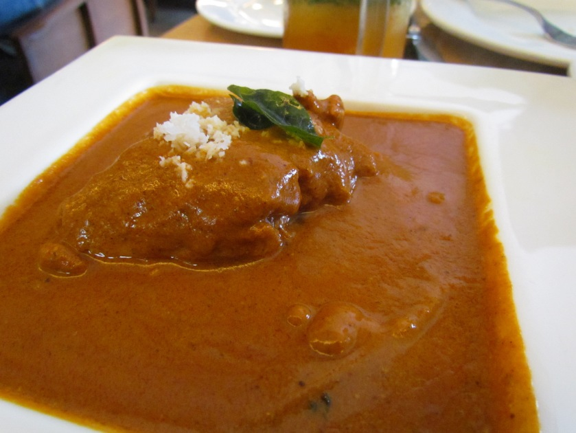 Fish chettinad with Betki fish