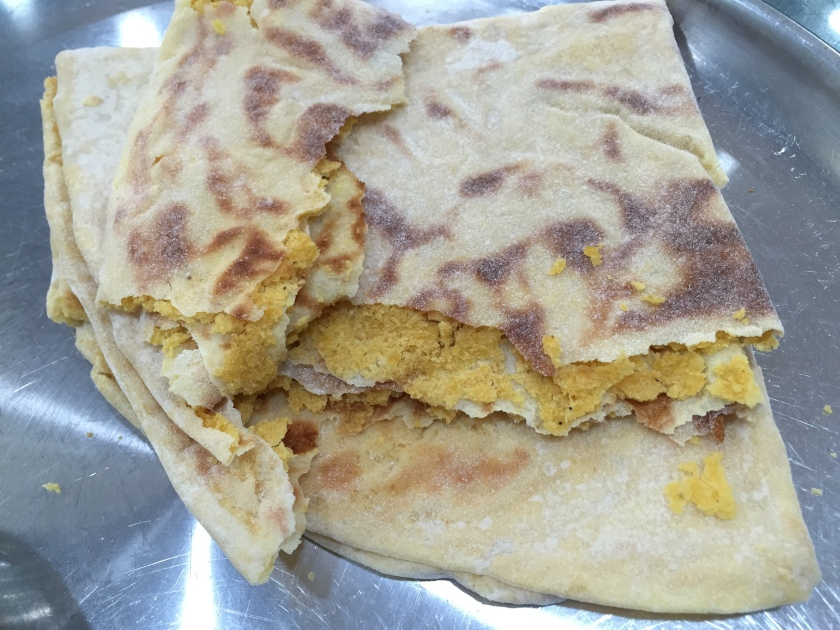 peep inside Puranpoli with ghee