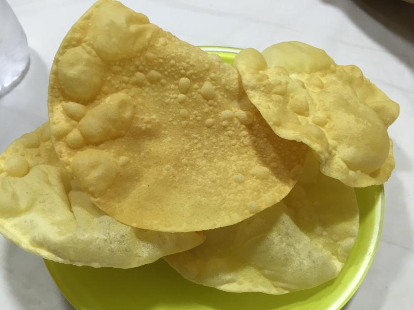 fried papadam