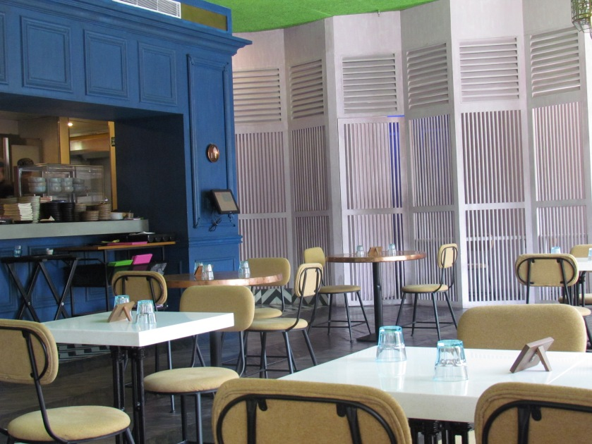 Well spaced seating area
