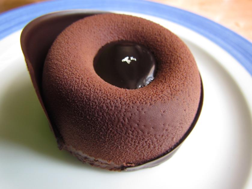 70% dark chocolate mousse