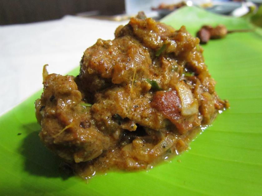 Mutton masala fry