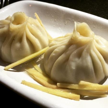 Juicy pork dumpling