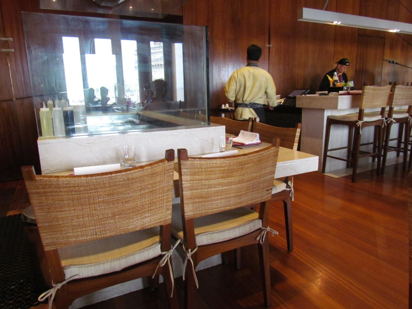 Teppanyaki counter