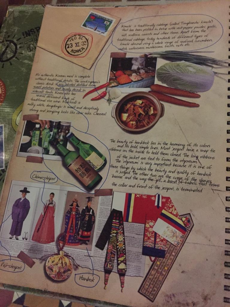 menu card first page
