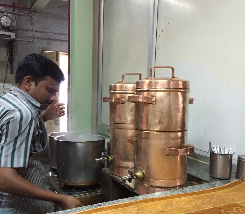 filter coffee being made