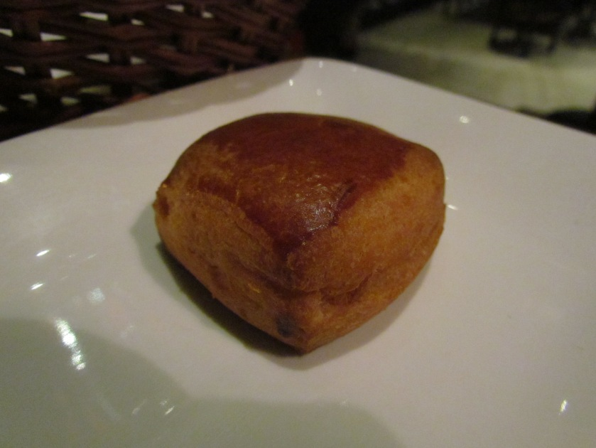 freshly baked buns served
