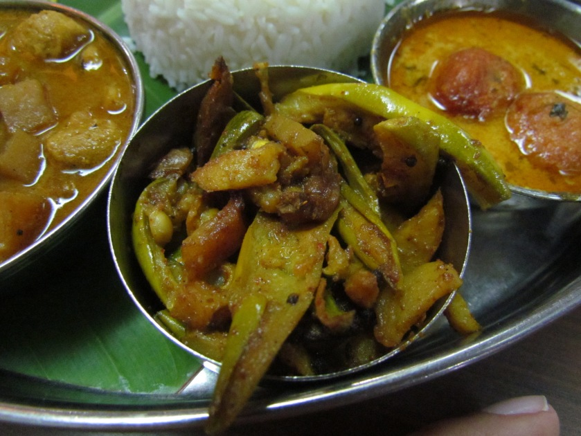 Dry (patal) Gourd curry