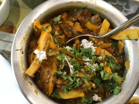 Shhahalachi bhajji