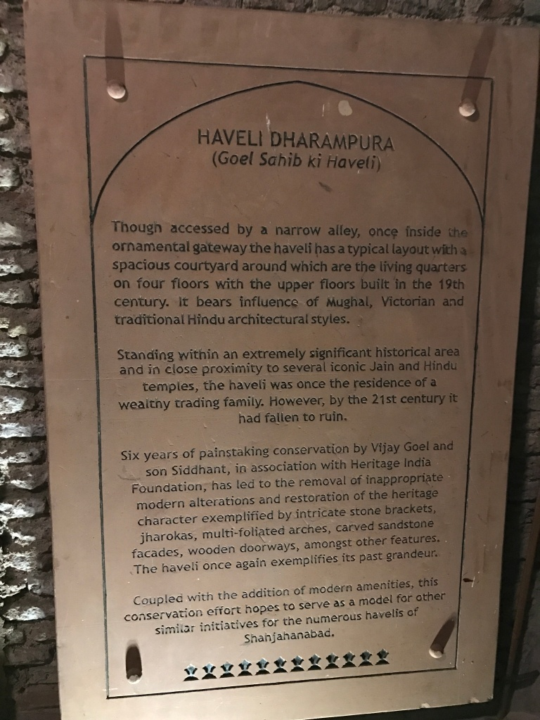 history of the haveli