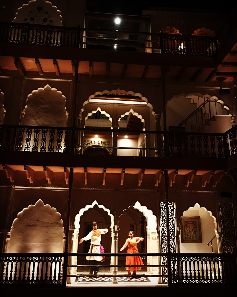 inside the haveli