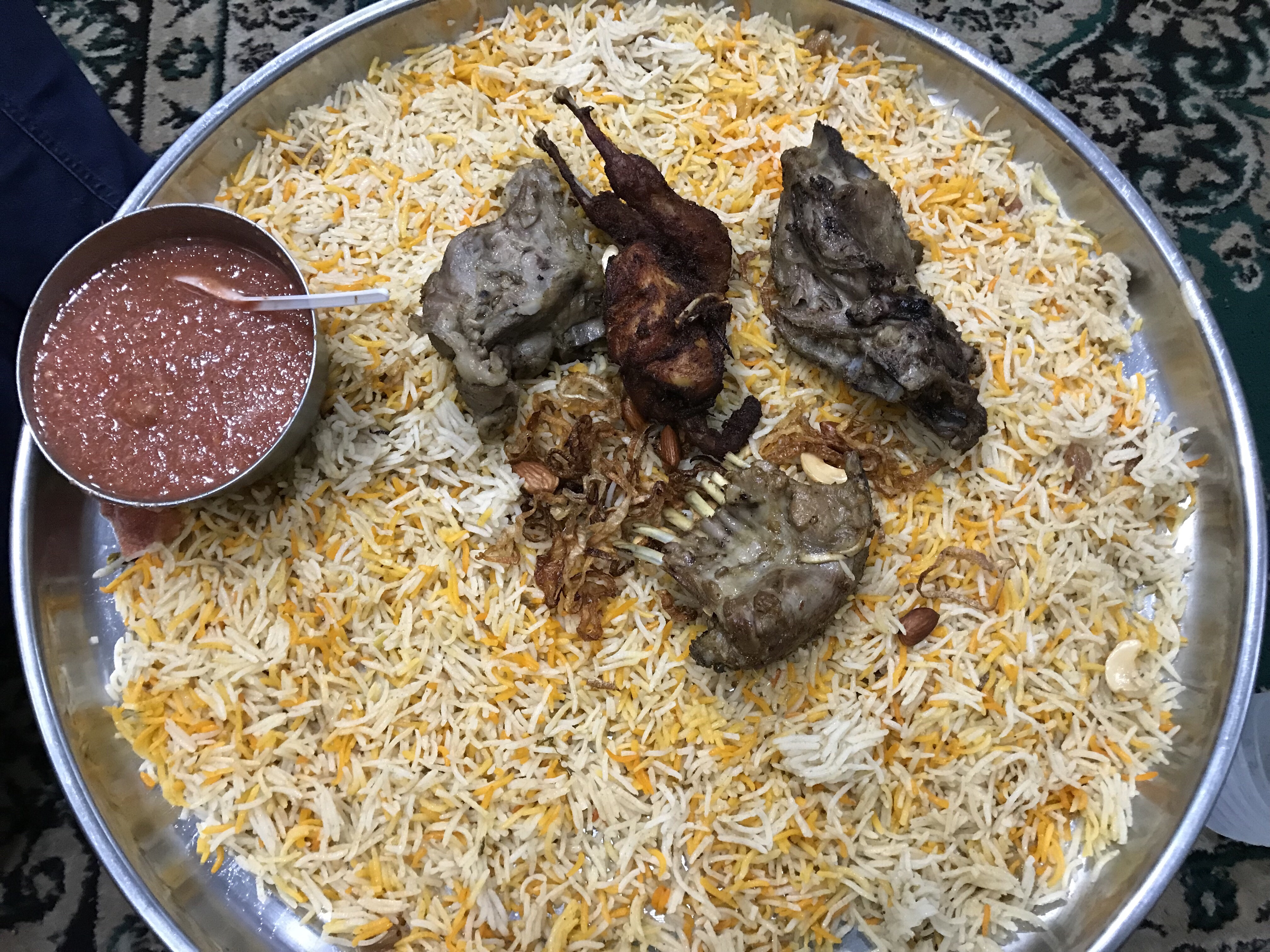 Mataam al arabi (errakunta, pahadi shareef Road, Hyderabad)